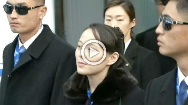 North Korean leader's sister arrives in Pyeongchang for the Olympics
