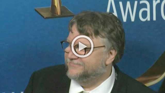 Guillermo del Toro at the WGA Awards