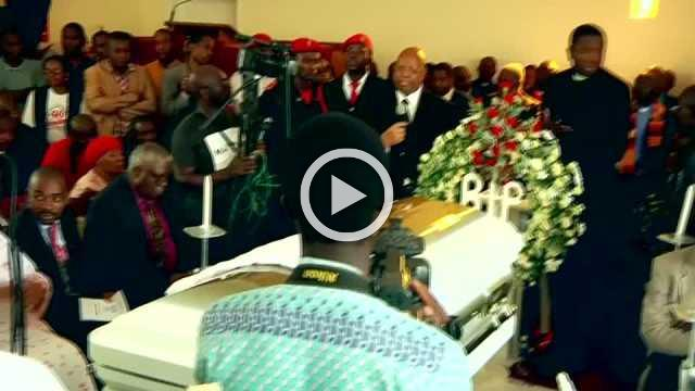 Mourners bid farewell to late Zimbabwe opposition leader Tsvangirai