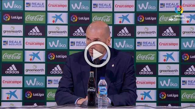 Zidane praises Asensio and Vazquez's for their 'dirty' work