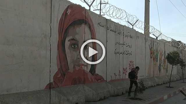 Afghanistan 'artlords' use paintings for social change