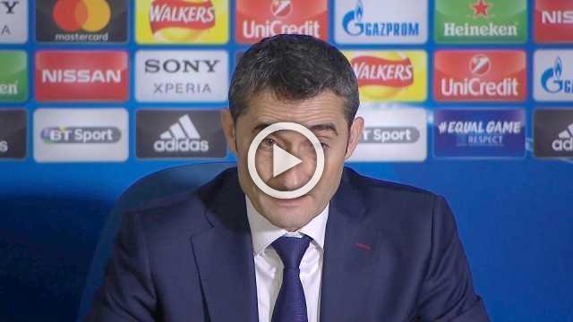 Barcelona coach says away goal may be crucial in return leg