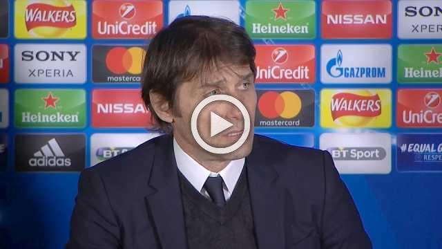 Conte happy with performance, says Chelsea have a chance to win tie