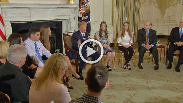Trump says arming teachers could prevent school massacres