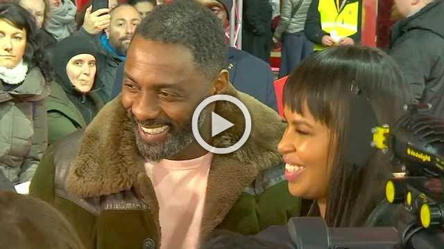 Idris Elba excited about engagement and directorial debut