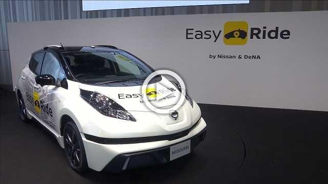 'Easy Ride' launches Nissan into the self-driving market