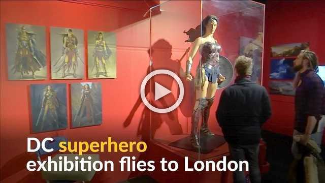 Batman, Superman and Wonder Woman take center stage in London