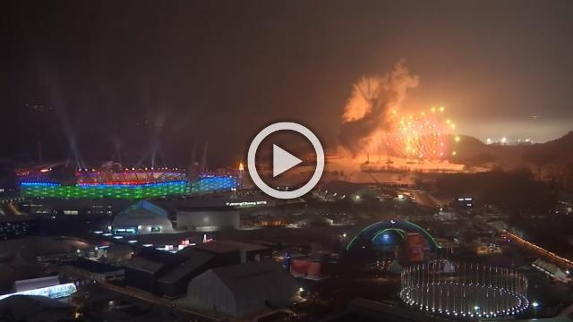 Fireworks mark opening of Winter Paralympics