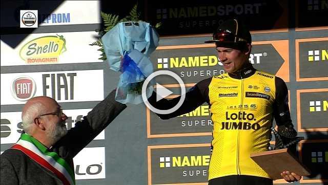 Primoz Roglic wins stage 3 as Geraint Thomas takes overall lead