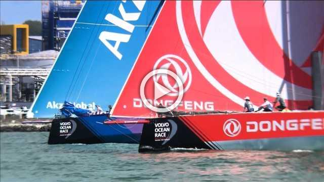 Dongfeng Race Team wins Auckland In-Port race