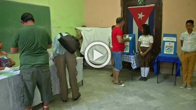 Cubans cast ballots in step toward post-Castro era