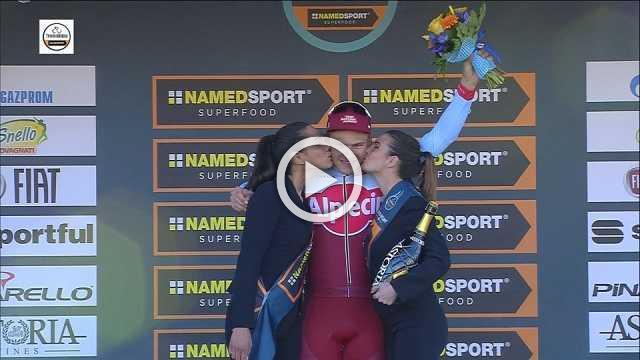 Kittel fights off Sagan to win stage as Kwiatkowski maintains blue jersey