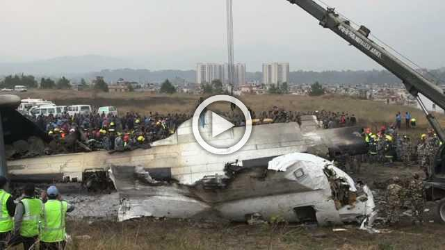 Authorities find black box after deadly Nepal plane crash