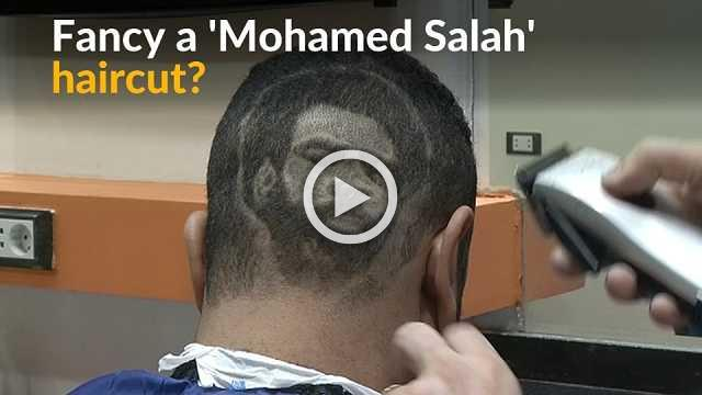 Egyptian barber spices up haircuts one portrait at a time