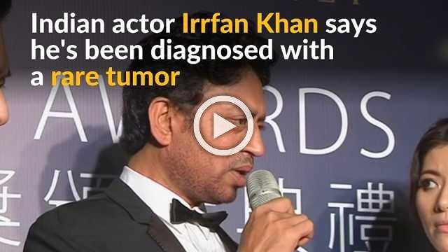 'Life of Pi' actor Irrfan Khan diagnosed with tumor