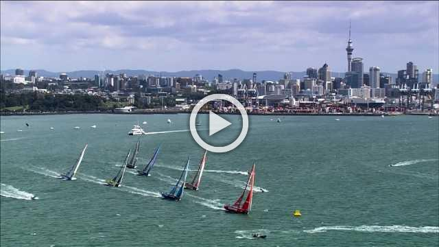 Leg 7 of the Volvo Ocean Race starts in Auckland