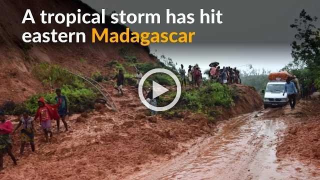 Tropical storm kills 17 in Madgascar