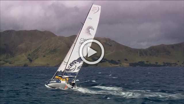 Volvo Ocean Race leaves New Zealand for Brazil