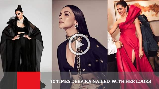 10 Times Deepika Nailed  With Her Looks