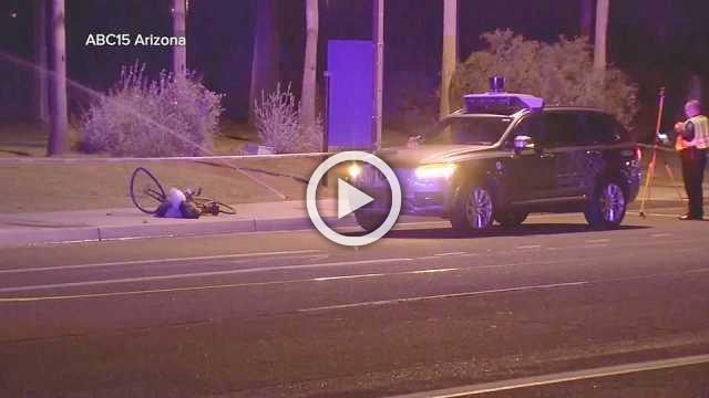 Uber self-driving car hits and kills a woman in Arizona