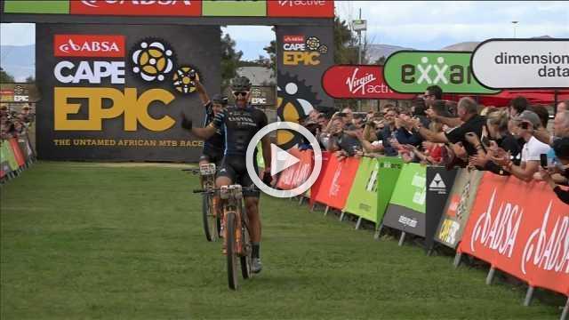 Lakata and Hynek take stage three win in Cape Epic