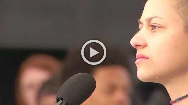 Parkland's Emma Gonzalez uses silence as weapon against gun violence