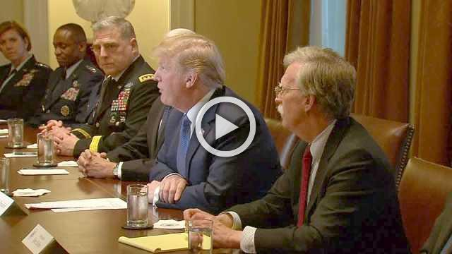 Trump weighs military options after Syria attack