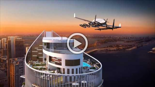 Miami developer looks to the future with flying carport