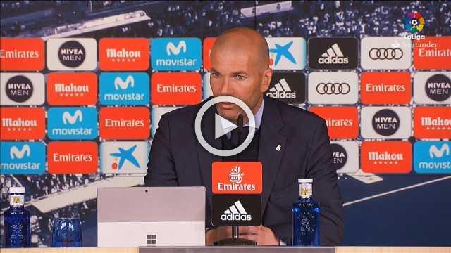 Zidane urging team to stay positive ahead of Champions League semi