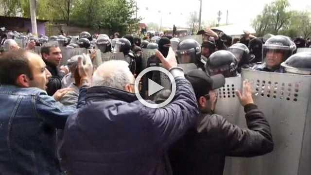 Armenian PM rejects protest call to quit