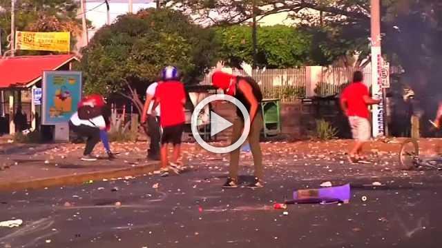 Violent political protests rack Nicaragua for fifth day