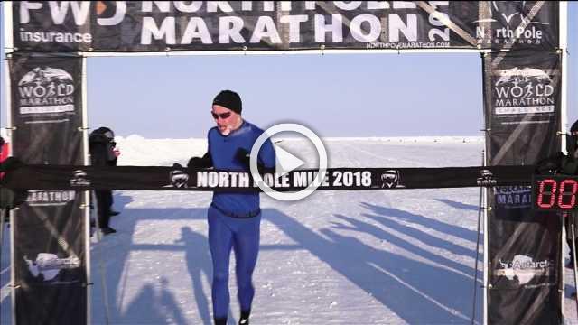 Irishman Robinson sets North Pole mile record