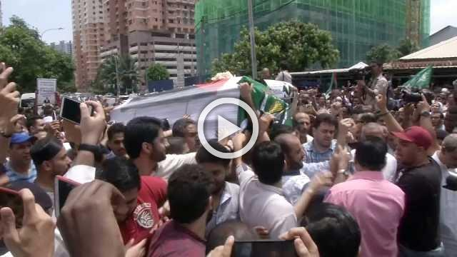 Body of slain Palestinian sent home to Gaza from Malaysia