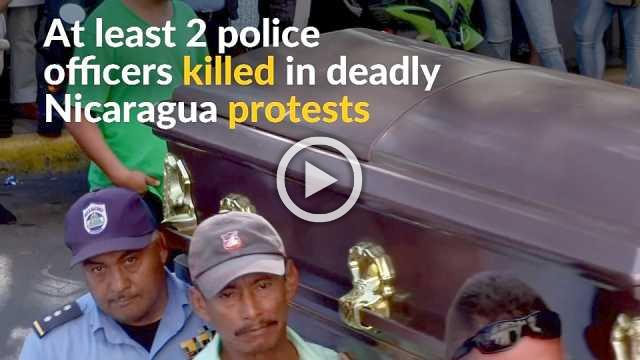 At least two police officers killed in Nigaraguan welfare reform protests