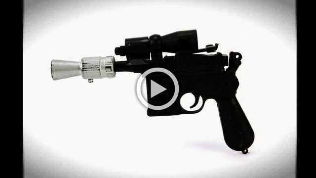 Han Solo's hero blaster 'Jedi' movie gun up for auction