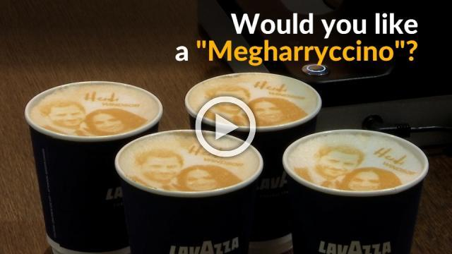 Would you start your morning with a ''Megharryccino''?