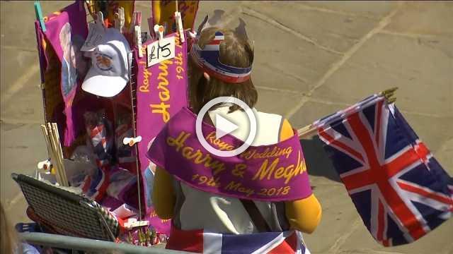 Royal fans flock to Windsor