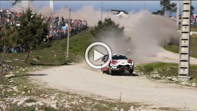 Car damage halts Rally Portugal contender Ott Tanak