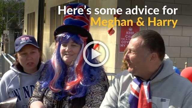 Fans have marriage advice for Prince Harry and Meghan Markle