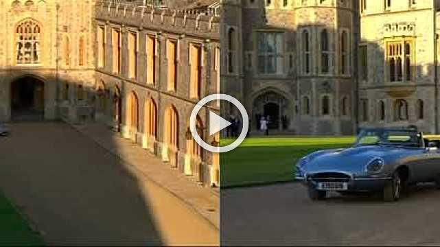 Harry, Meghan depart Windsor Castle for evening reception