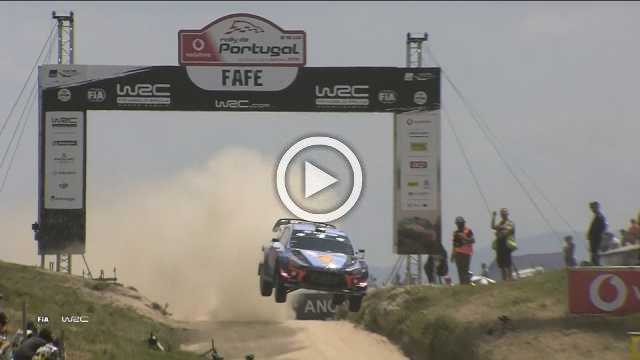 Neuville takes world championship lead with Portugal Rally win