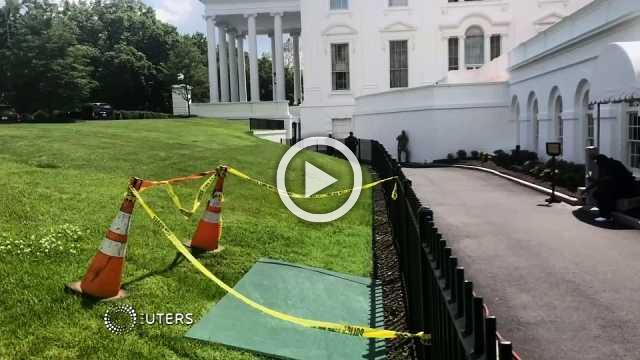 Sinkhole at center of White House cover up