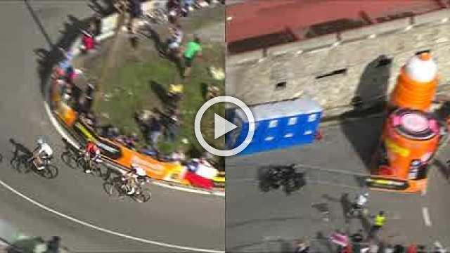 Yates' Giro lead cut in half as Dumoulin gains on stage 18