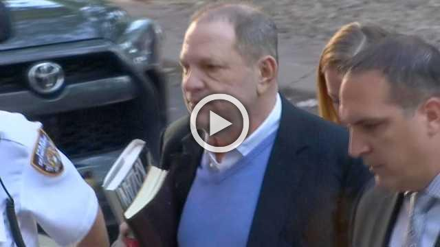 Weinstein surrenders to police