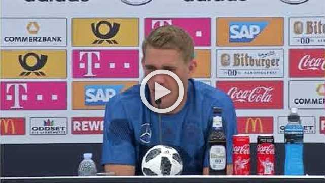 """Germany's Petersen says his World Cup call up is """"crazy"""""""