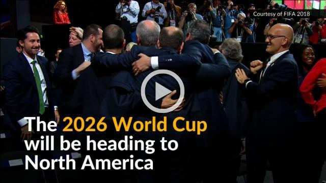 U.S., Mexico and Canada to host 2026 World Cup