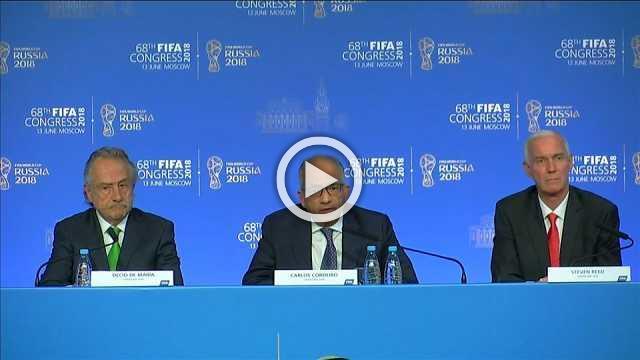 United bid comfortably wins vote at FIFA Congress