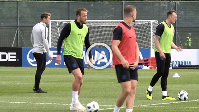 England build-up continues ahead of World Cup start