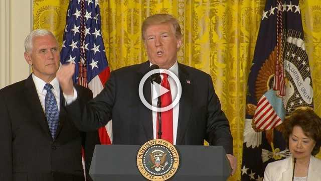 U.S. will not be a 'migrant camp': Trump