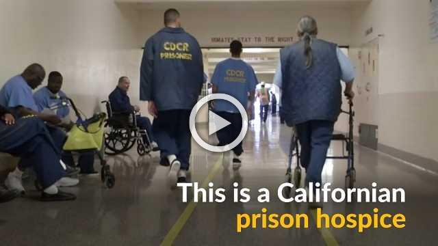 Prison hospice in California comforts terminally ill inmates until their last breath